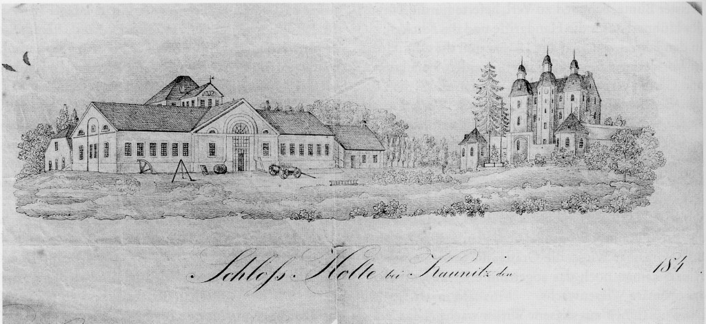 1842 Graphik aus Anfangszeit