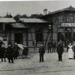 1901 Bahnhof Schloß Holte