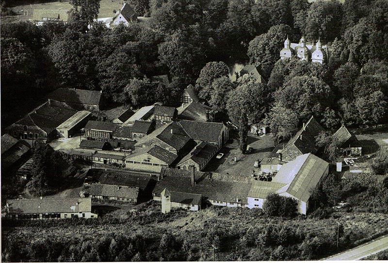 Luftaufnahme aus dem Jahre 1965