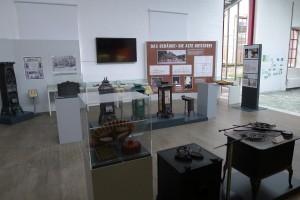 Öfen der Holter Eisenhütte bilden einen Schwerpunkt der Ausstellung.