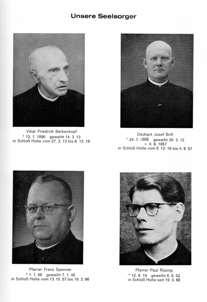 Die Seelsorger an St. Ursula - bis 1988